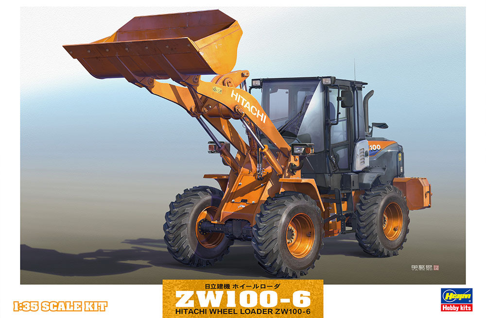 Hitachi Wheel Loader ZW100-6 1/35