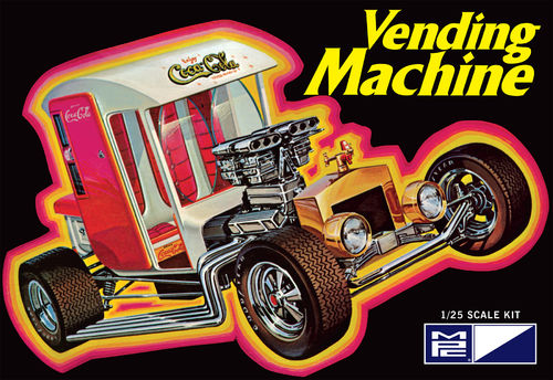 Coca-Cola Vending Machine Show Rod 1/25