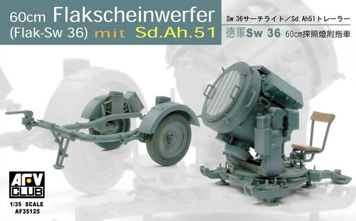 SW-36 60cm Searchlight/with Sd.Ah.51 Trailer