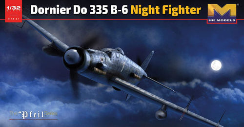 Dornier DO-335 B-6  Night Fighter  1/32