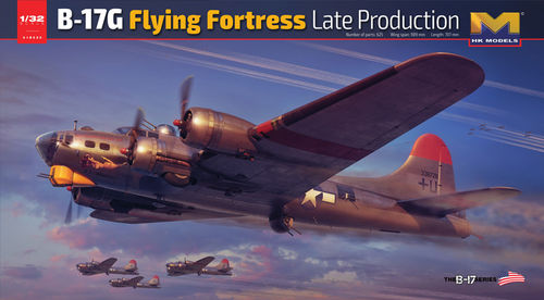 B-17 G Flying Fortress Late edition  1/32