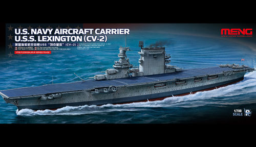 U.S.Navy Aircraft CarrierU.S.S.Lexington (CV-2) 1/700