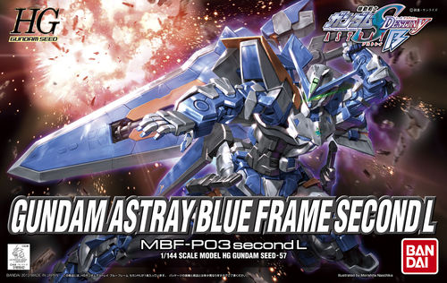 HIGH GRADE ASTRAY BLUE FRAME SECOND 1/144