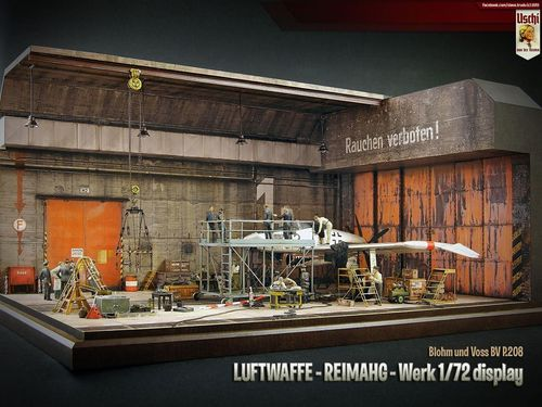"REIMAHG Werk ""Lachs"" THE WHOLE KIT, MDF AND PRINT in one box 1/72"