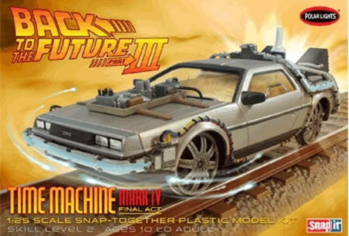 Back to the Future III Final Act Time Machine