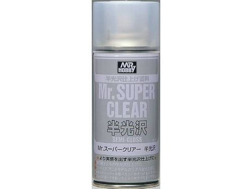 Mr.Super Clear Semi-Gloss Spray (170 ml)