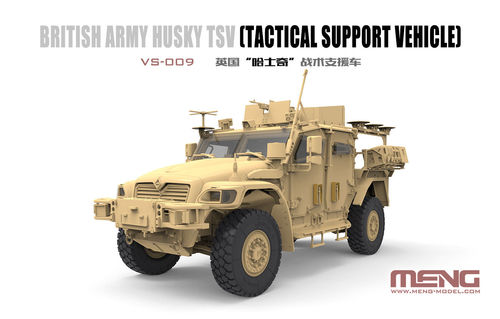 British Army Husky TSV (Tactical Support Vehicle)  1/35