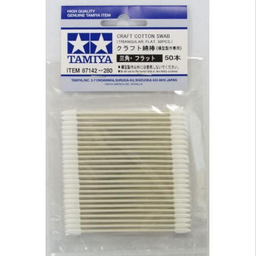 Craft Cotton Swab: Triangular/Flat