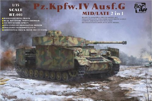 Panzer IV Ausf.G Mid/Late 2in1  1/35