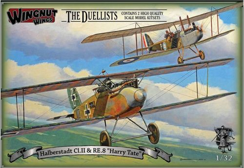 "Halberstadt Cl.II & RE.8 ""Harry Tate"" Duellists 1/32"