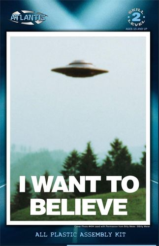Want To Believe Billy Meier UFO with Light
