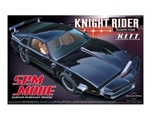 Knight Rider K.I.T.T. SPM mode