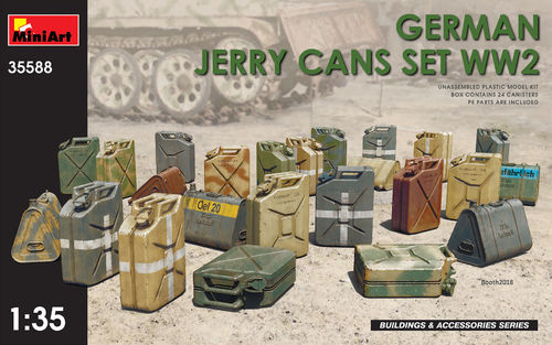 German Jerry Cans Set WWII 1/35