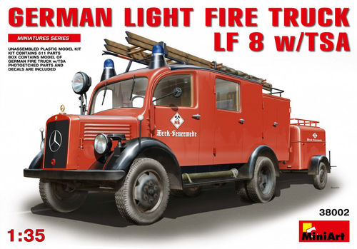 German Light Fire Truck LF8 1/35
