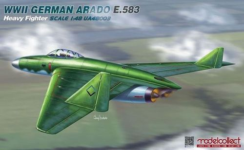 German Arado E.583 Heavy Fighter 1/48