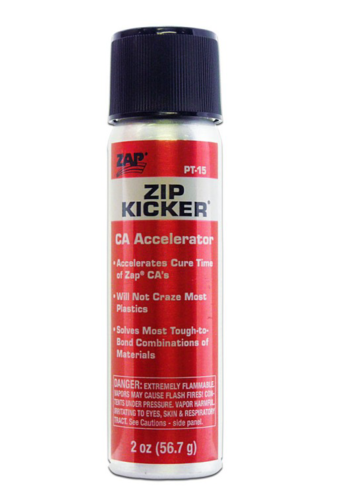 ZAP Zip Kicker CA Glue Accelerator Spray (60ml)
