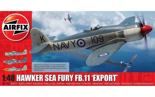 "Hawker Sea Fury FB.11 ""Export Edition""  1/48"