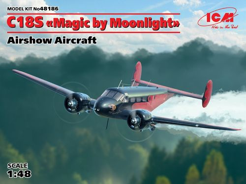 "C18S ""Magic by Moonlight"", American Airshow Aircraft 1/48"