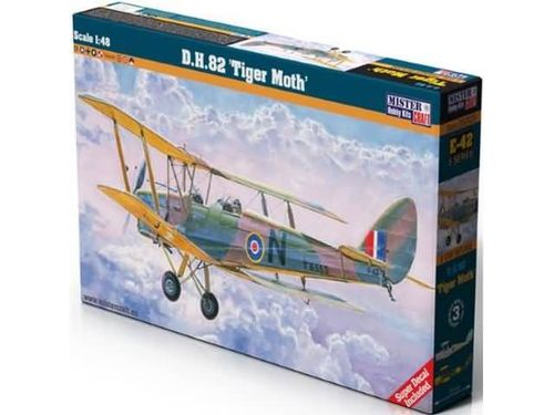 "D.H.82 ""Tiger Moth"" ( NL/BE decals) 1/48"
