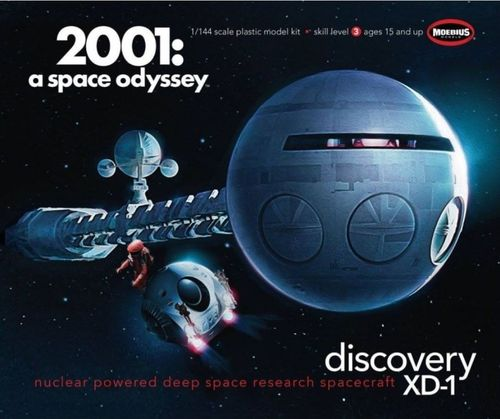 Discovery XD-1 - 2001 A Space Odyssey 1/144
