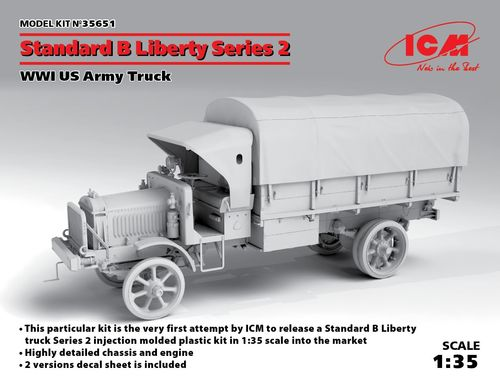 "Standard B ""Liberty"" Series 2, WWI US Army Truck  1/35"