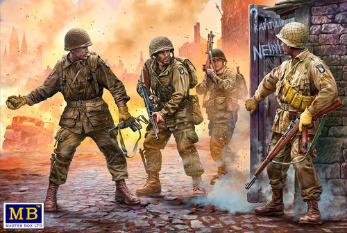 Take one more grenade! , 101st Airborne  1/35