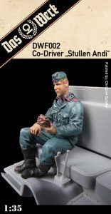 "Co-Driver Figure ""Stullen Andi"" 1/35"