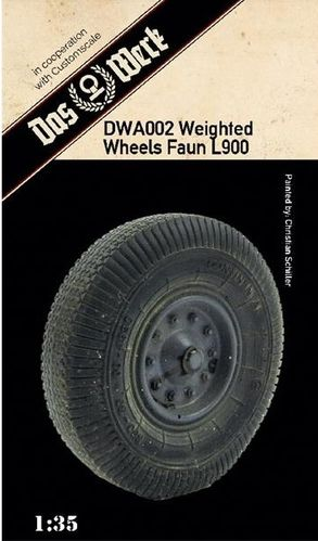 Weighted tires for Faun L900