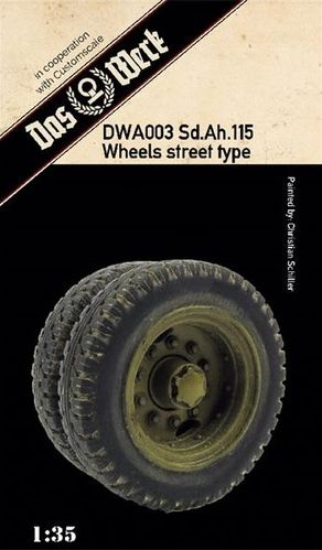 Weighted tires for Sd.Ah.115 (street pattern)