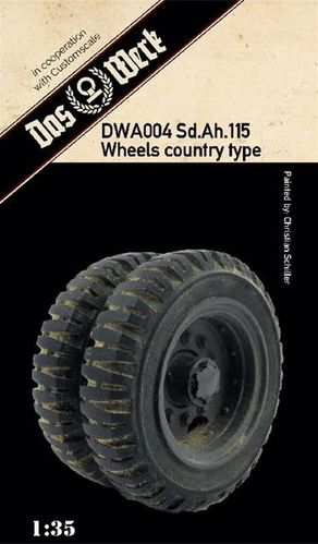 Weighted tires for Sd.Ah.115 (off-road pattern)