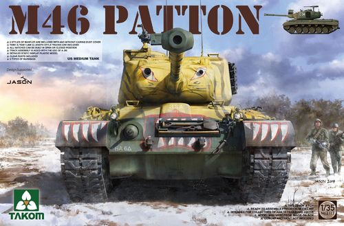 US Medium Tank M-46 Patton 1/35