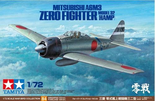 A6M3 Mithsibutshi Zero fighter Model 32 (HAMP) 1/72