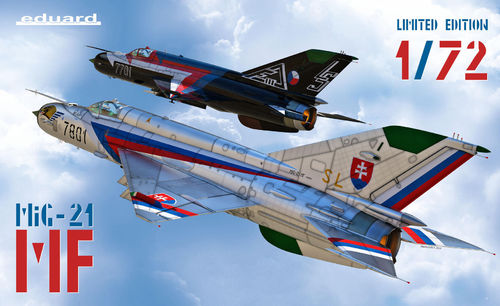 MIG -21 MF Dual Combo  limited edition 1/72