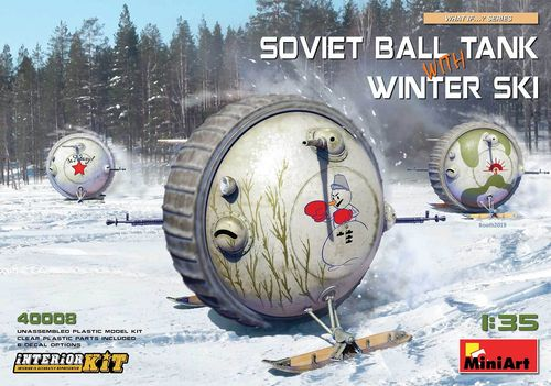 Soviet Ball Tank with Winter Ski 1/35