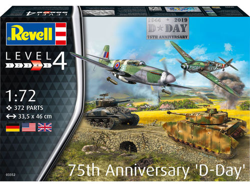 75 Years D-Day Set  1/72
