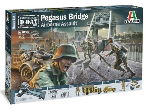 Pegasus Bridge 75 Years D-Day Set  1/72