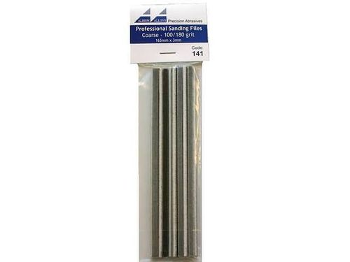 Professional Sanding Files Coarse 100/180 Grit (3mm)