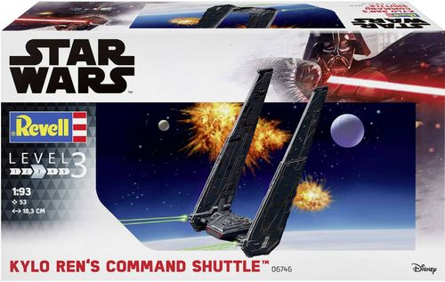 Kylo Ren's Command Shuttle 1/93