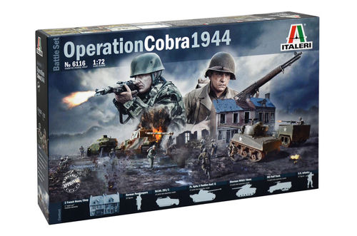 Operation Cobra 1944 - Battle Set  1/72