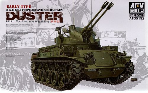 M42A1 Duster early  1/35