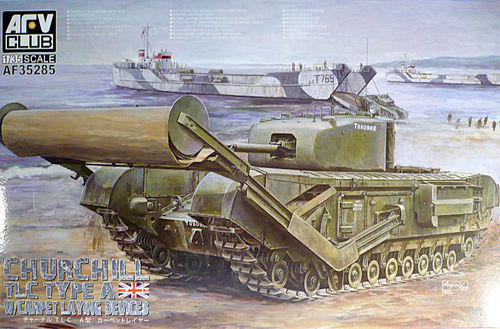 Churchill Mk.IV TLC Type A Laying Device 1/35