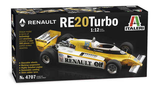 Renault RE20 Turbo  1/12