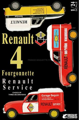 Renault 4 Fourgonnette Service Car