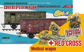 G10 Wagon Covered Red Cross edition 1/35
