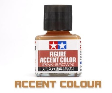 Tamiya Figure Accent Color (Pink-Brown)