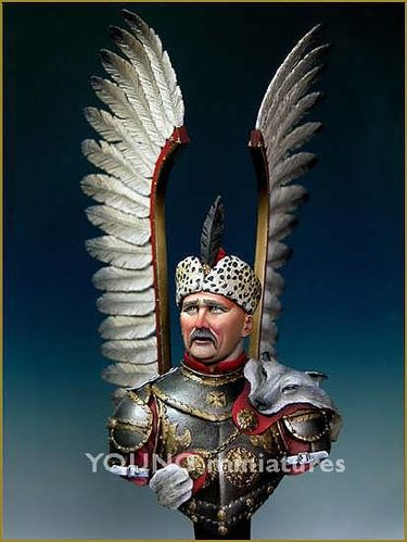 Polish Winged Hussar Bust 1/10
