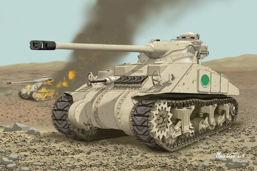 Egyptian Sherman 1/35