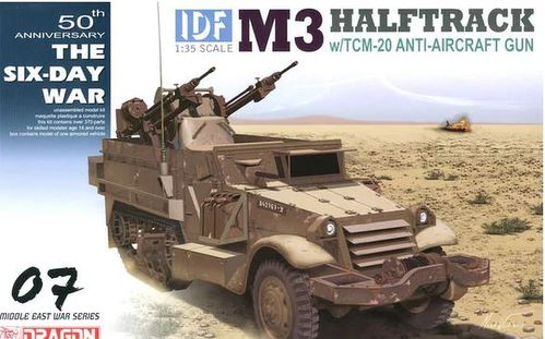 IDF M3 HALFTRACK w/TCM-20 Anti-Aircraft Gun 1/35