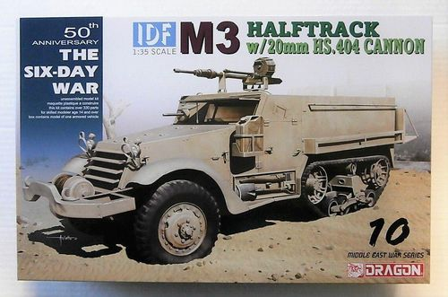 IDF M3 WITH 20 MM HISPANO SUIZA HS 404 CANNONS 1/35