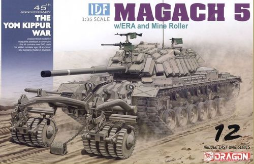 IDF Magach 5 w/ERA and Mine Roller 1/35